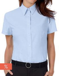 Oxford Shirt Short Sleeve / Women